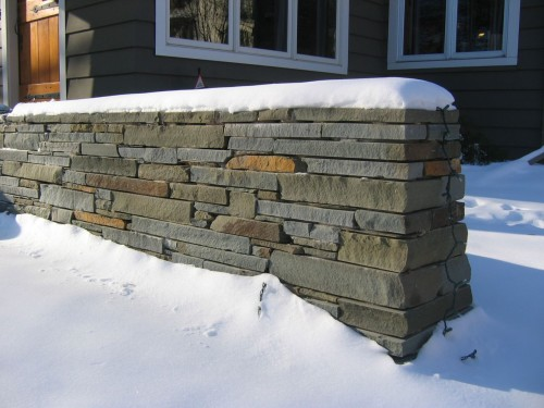 Bluestone Wall
