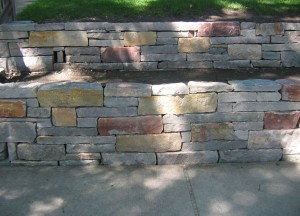 Chilton Weather Edge Retaining Wall
