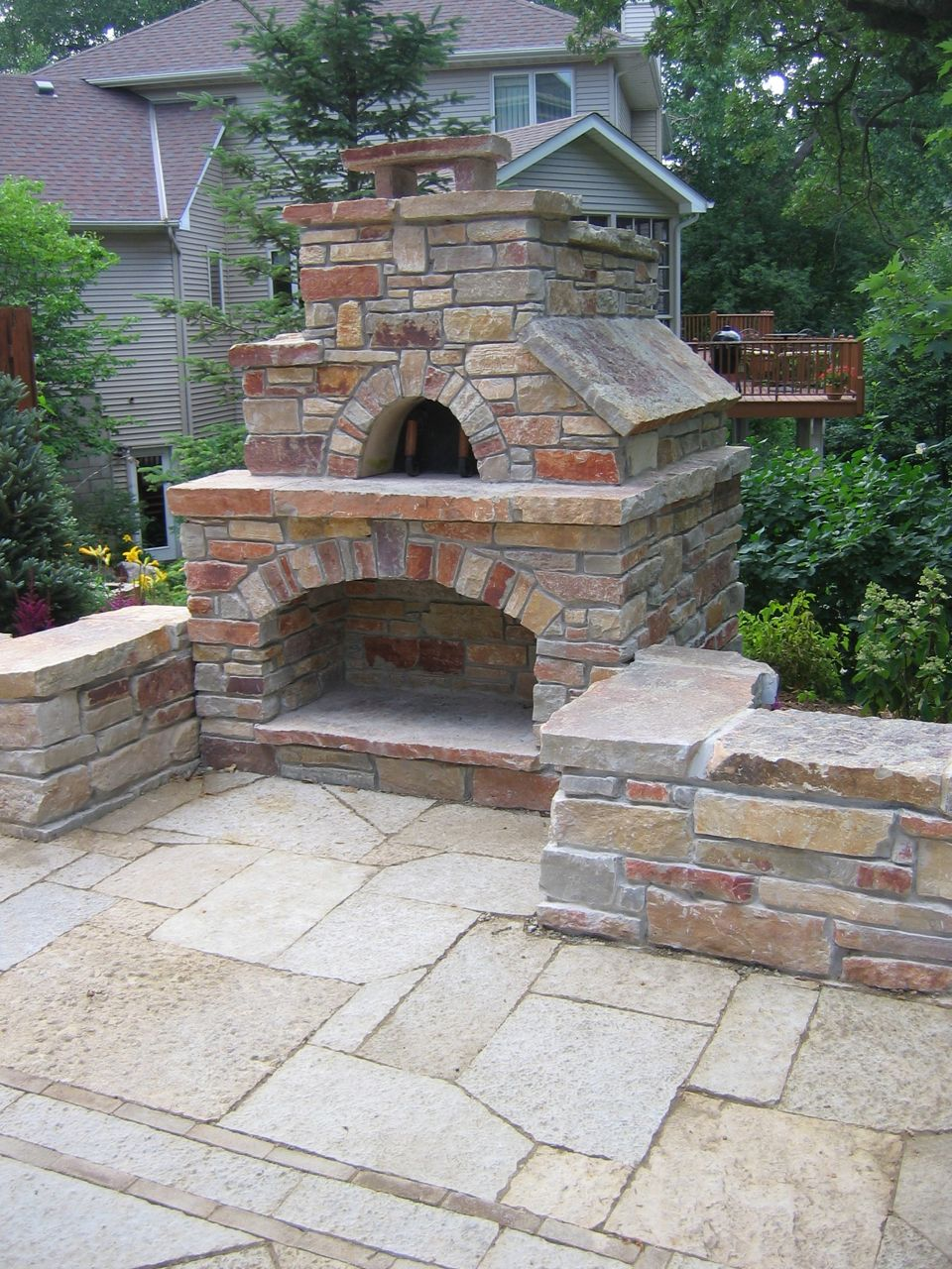 Stone oven jeff - Outdoor stone ovens ...