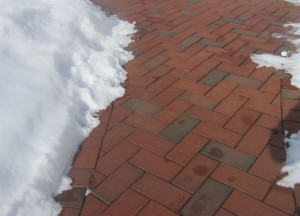 Can I Shovel Clay Pavers?